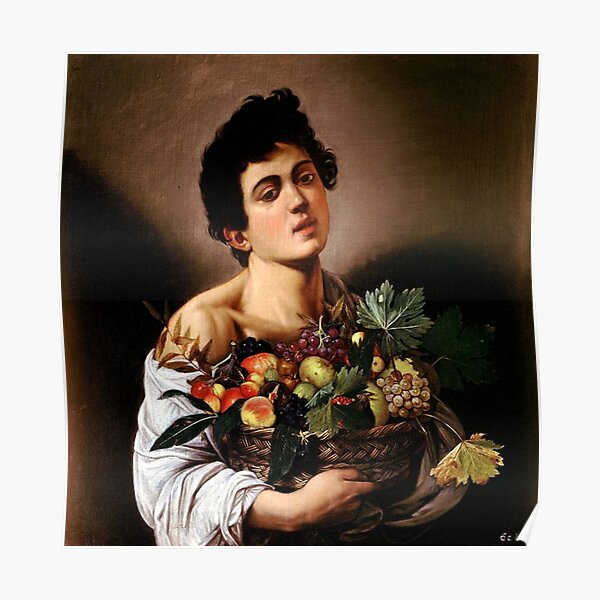1605 Caravaggio Saint Jerome Writing Catholic Art Painting Poster Reproduction