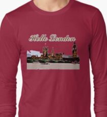 Beautiful London Bigben& Thames river Long Sleeve T-Shirt