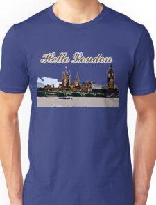 Beautiful London Bigben& Thames river Unisex T-Shirt