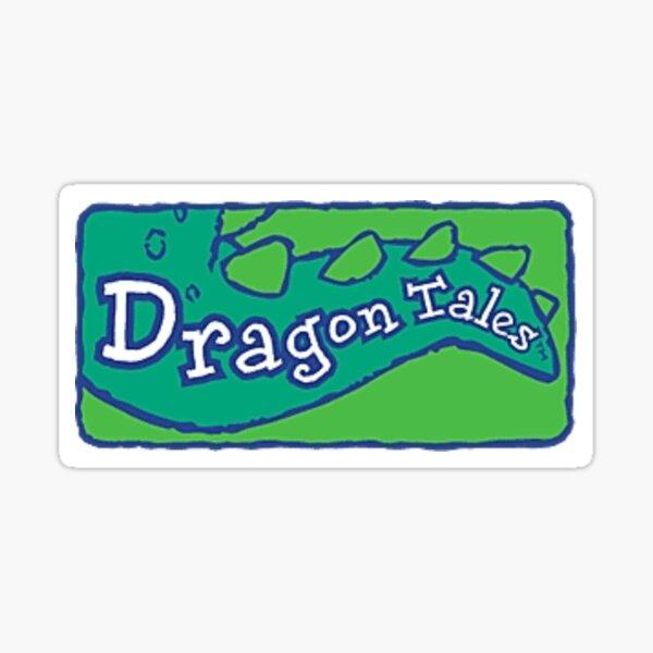 dragon tales Sticker