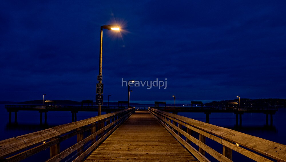 Led Davis Pier, 4:30 am by heavydpj