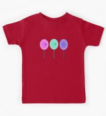 colorful cute sweet lollipop candy graphic art Kids Clothes