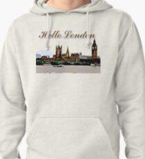 Beautiful London Bigben& Thames river art Pullover Hoodie