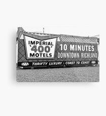 Classic motel sign Metal Print