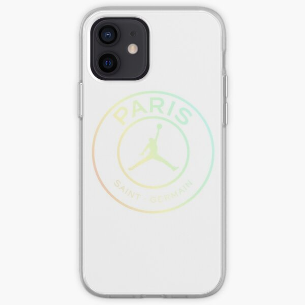 PSG Jordan Collab Funda blanda para iPhone