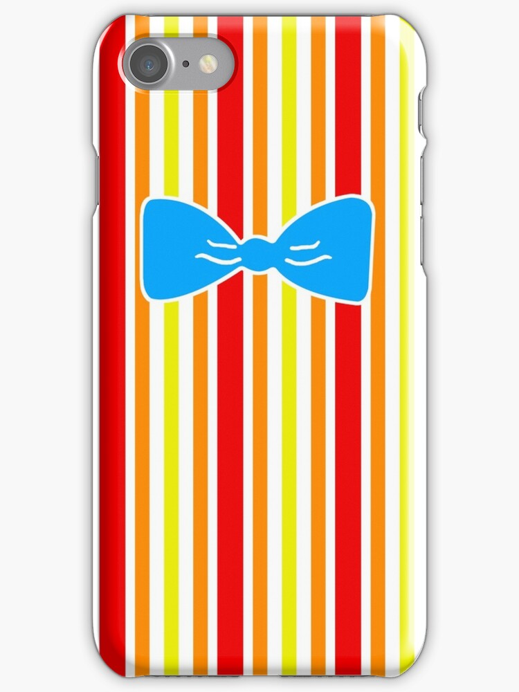 Jolly Holiday Bert iPhone Case by magicalribbons