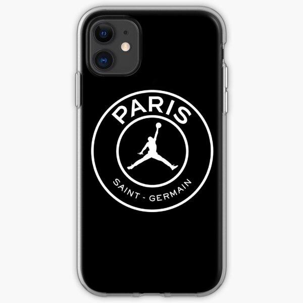 PSG Jordan Collab iPhone Soft Case