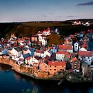 Staithes Dawn by Dave Hudspeth