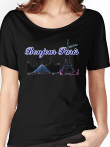 Beautifil architecture Luvoure museum Paris france graphic art Women's Relaxed Fit T-Shirt