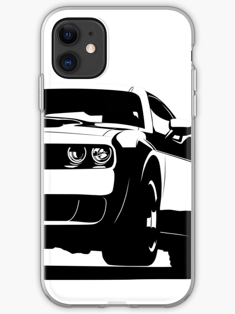 Dodge Challenger SRT Hellcat Motorsport Musclecar iphone case