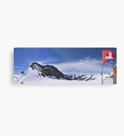 Jungfraujoch Views - the Spirit of Switzerland Metal Print