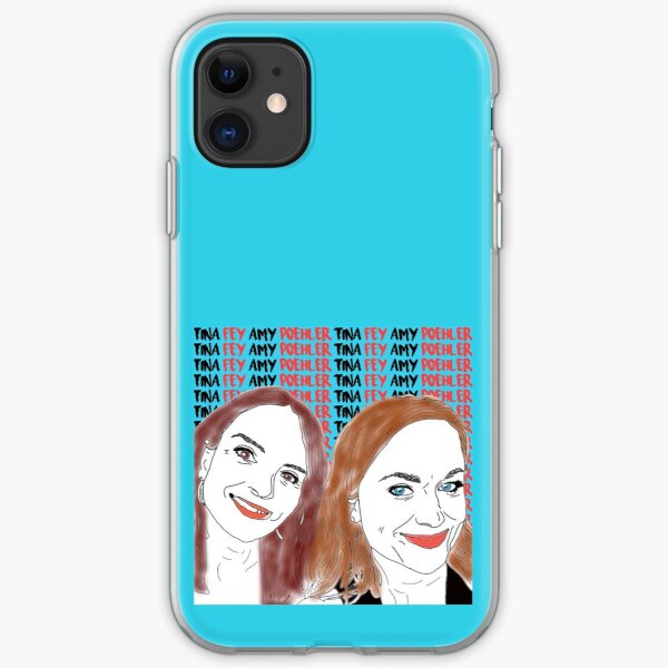 Tina Fey & Amy Poehler iPhone Case & Cover by Lauraptor