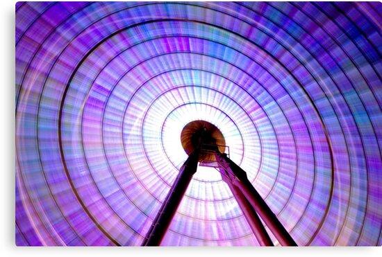 Colour Wheel: Ferris Wheel by Obscuro