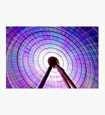 Colour Wheel: Ferris Wheel Photographic Print