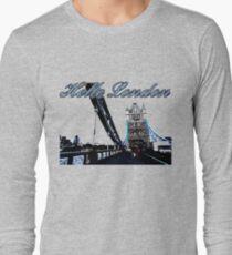 Beautiful London Tower bridge Long Sleeve T-Shirt