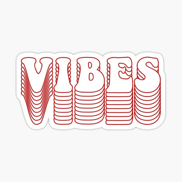 Retro Vibes Sticker