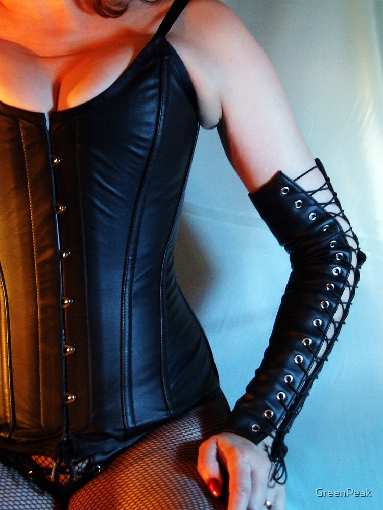 Leather Corset by Paul  Green