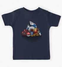 Anime Monsters Kids Tee