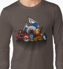 Anime Monsters Long Sleeve T-Shirt