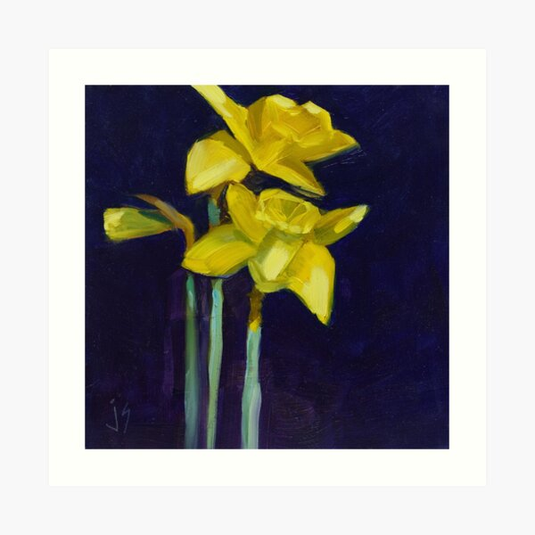 Daffodil Gold Art Print