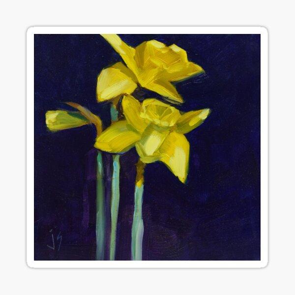 Daffodil Gold Sticker