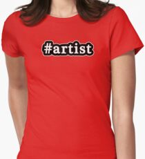 Artist - Hashtag - Black & White T-Shirt