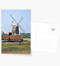 Cley Windmill from the east Postcards