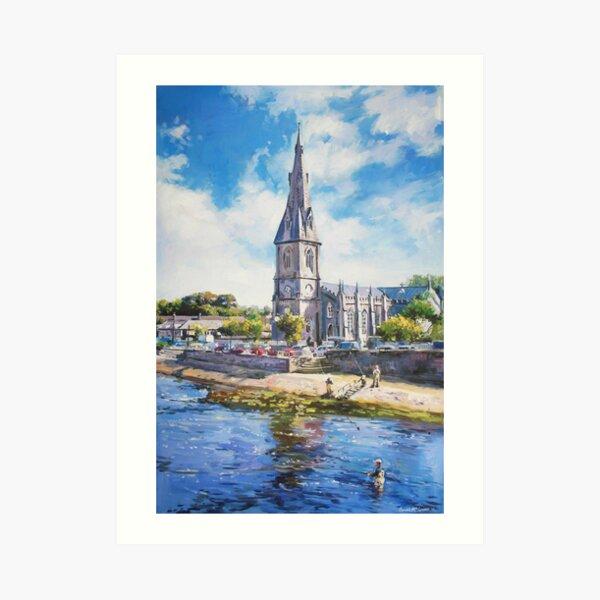 St. Muredach's Cathedral, Ballina, Co. Mayo Art Print