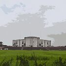 The Parliament house BANGLADESH by HamimCHOWDHURY