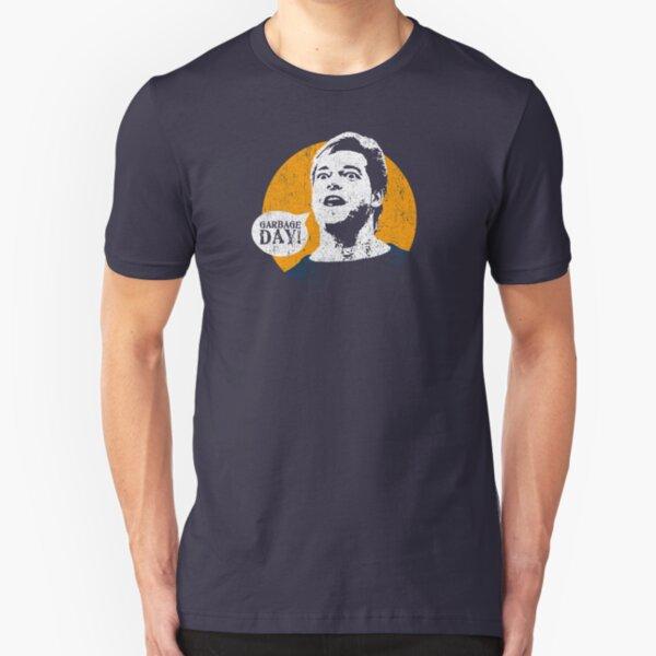 GARBAGE DAY! Slim Fit T-Shirt