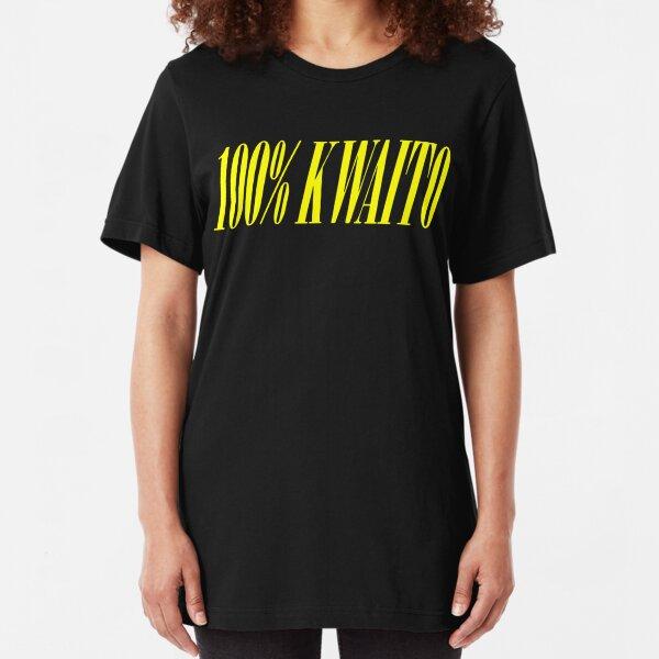 100% KWAITO Slim Fit T-Shirt