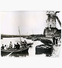 Cley windmill - the shooting party 1888 Poster
