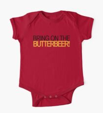 Bring on the Butterbeer! Kids Clothes