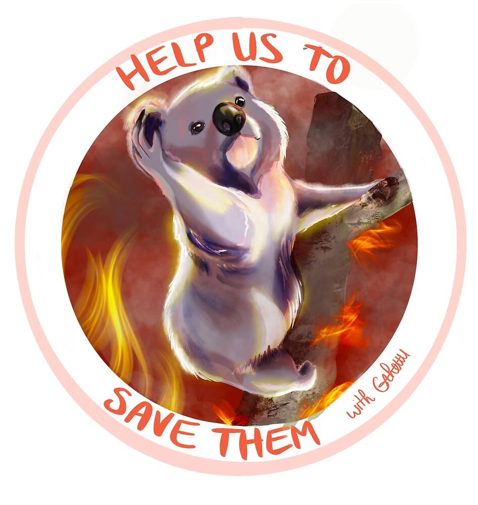 « Koala, help australien animals » par Grheuu