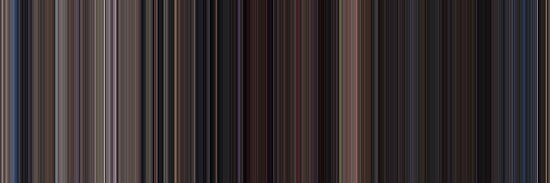 Moviebarcode: Back to the Future Part II (1989) [Simplified Colors] by moviebarcode