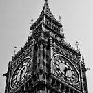 London, Big Ben von thomasrichter