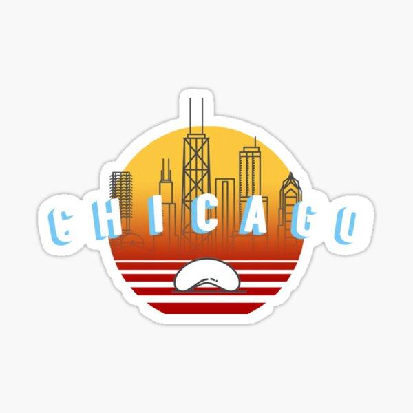 Chicago Bean Sunset City Sticker