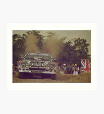 Lancia Rallye 037 Art Print