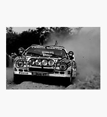 Lancia Rallye 037 Photographic Print