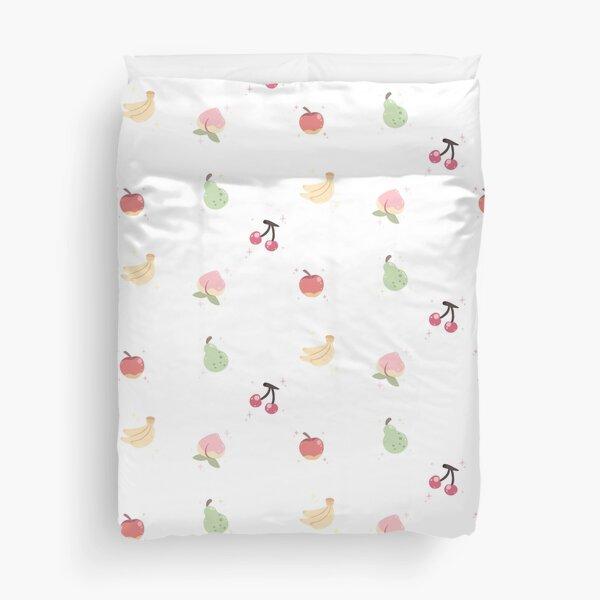 Cute Fruits Duvet Cover