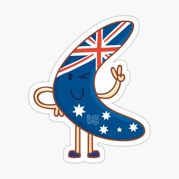 Aussie Boomerang Sticker