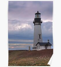 Yaquina Head HDR Poster