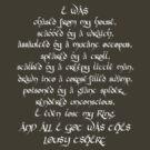 Frodo's Rant by Rachel Miller