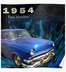 1954 Ford Mainline Poster