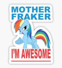 Fraking Awesomeness, etc Sticker