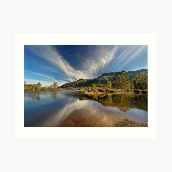 Narcissus River, Tasmania Art Print