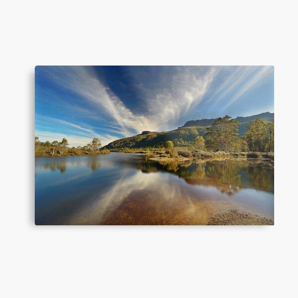 Narcissus River, Tasmania Metal Print
