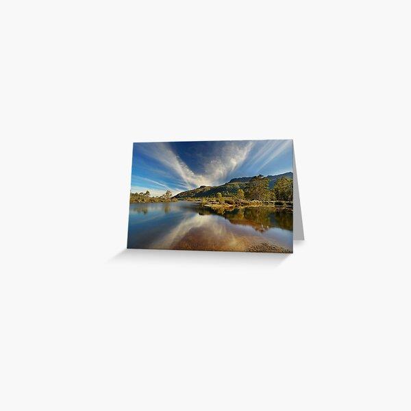 Narcissus River, Tasmania Greeting Card