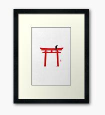 Torii 鳥居 Framed Print