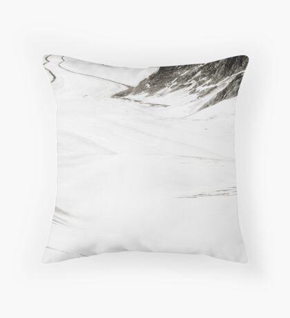 The Long Cold Walk Throw Pillow
